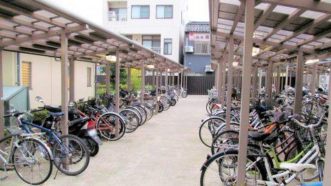 十間町自転車駐輪場