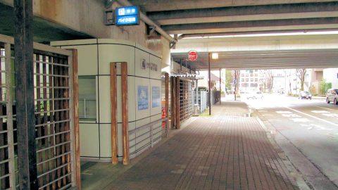金沢駅原付駐車場