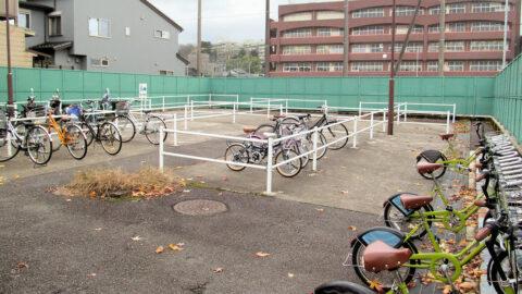 兼六園下暫定自転車駐輪場