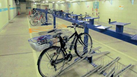香林坊地下自転車駐輪場