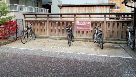 にし茶屋街観光駐輪場
