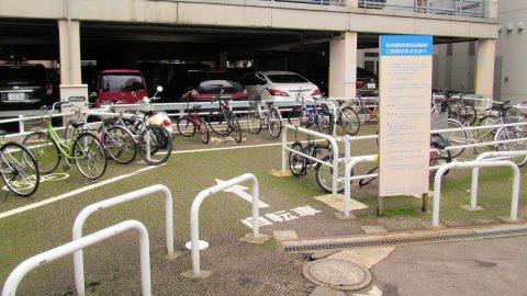 竪町第二暫定自転車駐輪場